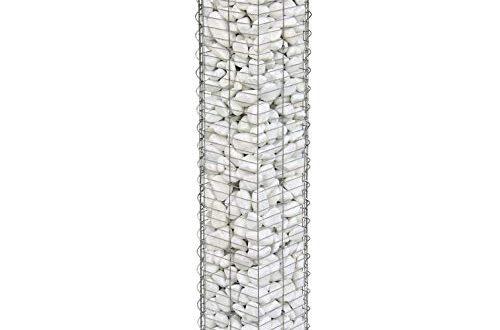 bellissa gabionen steinsaeule basic 95539 dekorative gabionensaeule fuer den aussenbereich 20 x 20 x 118 cm 500x330 - bellissa Gabionen-Steinsäule BASIC - 95539 - Dekorative Gabionensäule für den Außenbereich - 20 x 20 x 118 cm