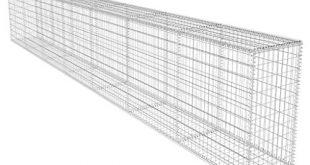 vidaXL Gabionenwand Verzinkter Stahl 600x40x100cm Gabione Steinkorb Drahtkorb 310x165 - vidaXL Gabionenwand Verzinkter Stahl 600x40x100cm Gabione Steinkorb Drahtkorb
