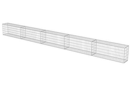 vidaXL Gabionen Wand mit Deckel 600x30x50cm Steingabionen Gabione Steinkorb 500x330 - vidaXL Gabionen Wand mit Deckel 600x30x50cm Steingabionen Gabione Steinkorb